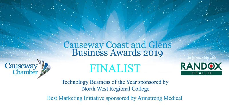 MCL InsureTech shortlisted in Causeway Coast & Glens Business Awards