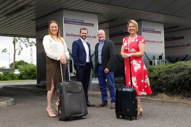 Its4women.co.uk Becomes First Brand to Sign Long Term Deal with Belfast International Airport's Car Park for Out Of Home Advertising